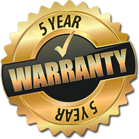 5 Year Warranty - Blinds Sydney